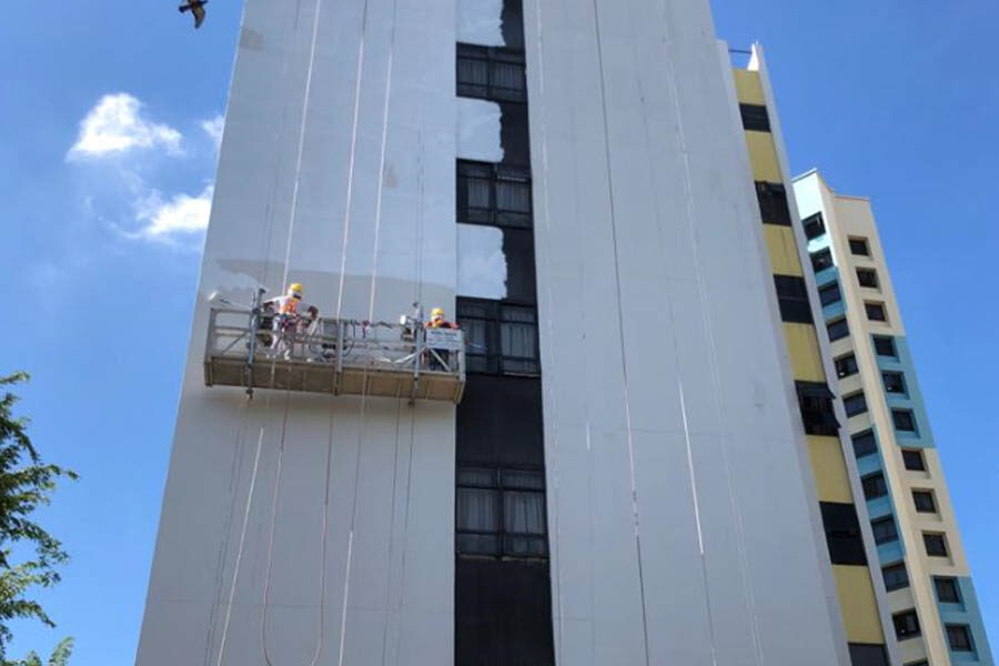 Hotel Exterior Painting